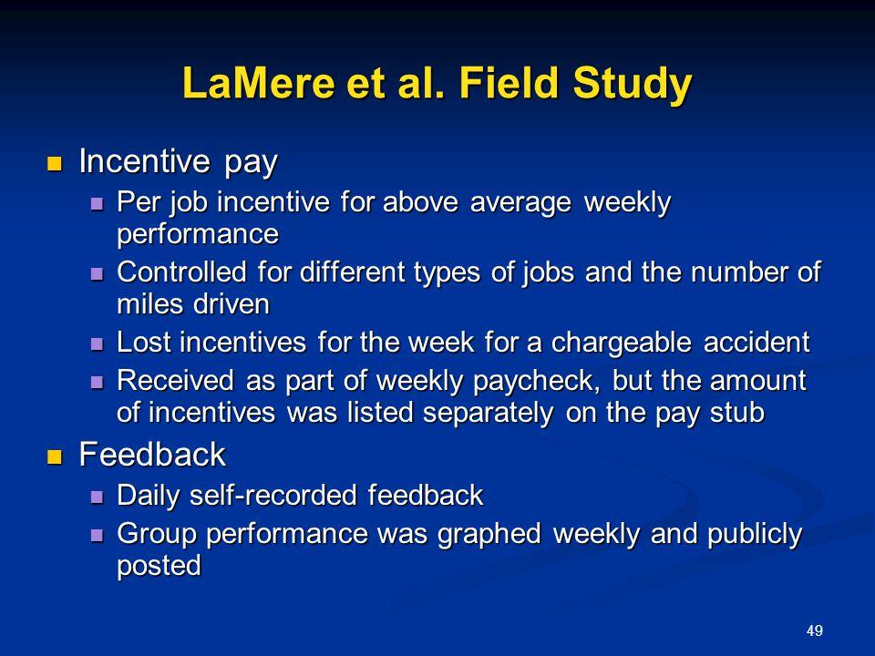 LaMere et al. Field Study