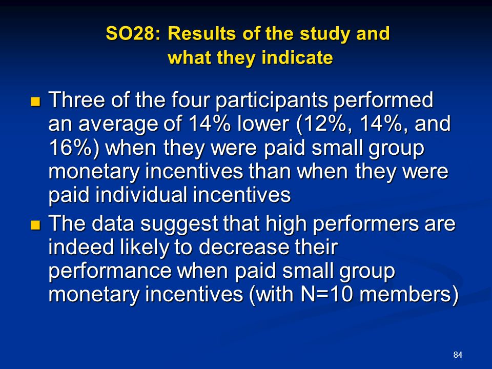 SO28: Results of the study and what they indicate