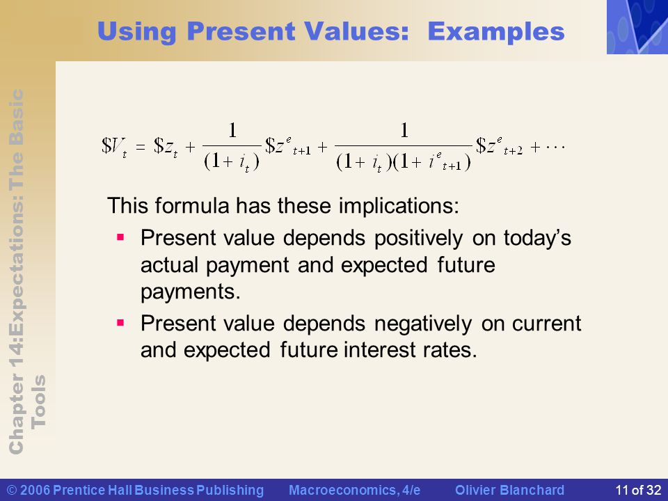 Using Present Values: Examples