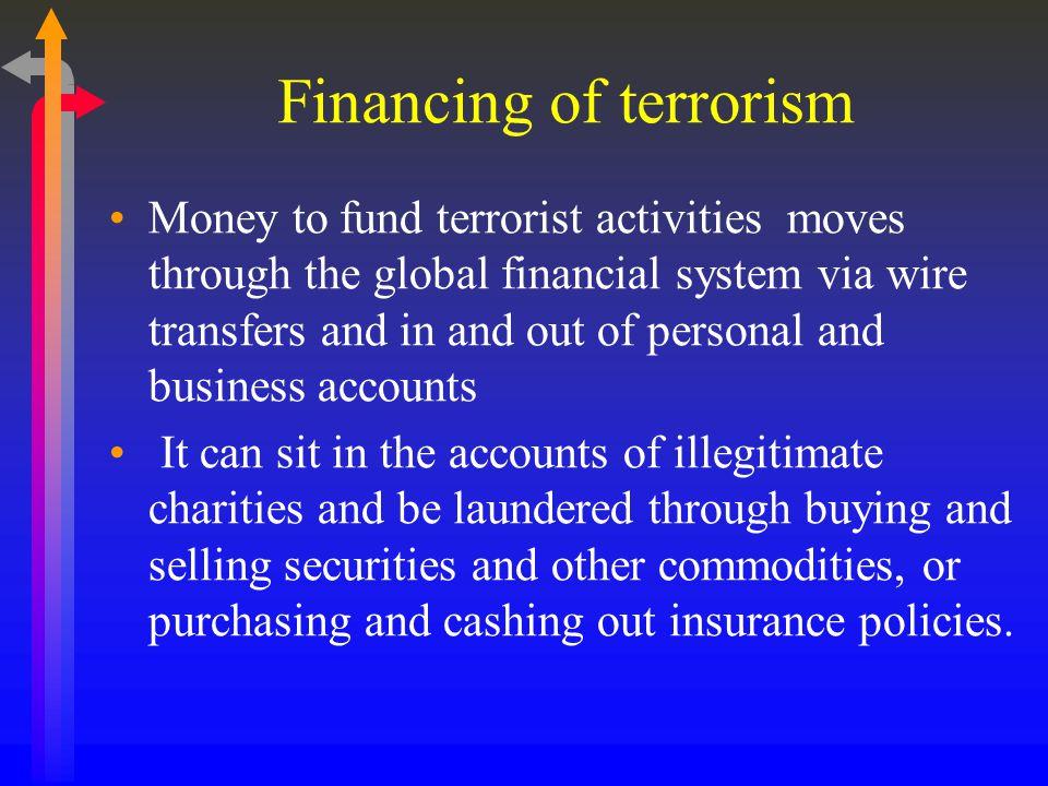 Financing of terrorism