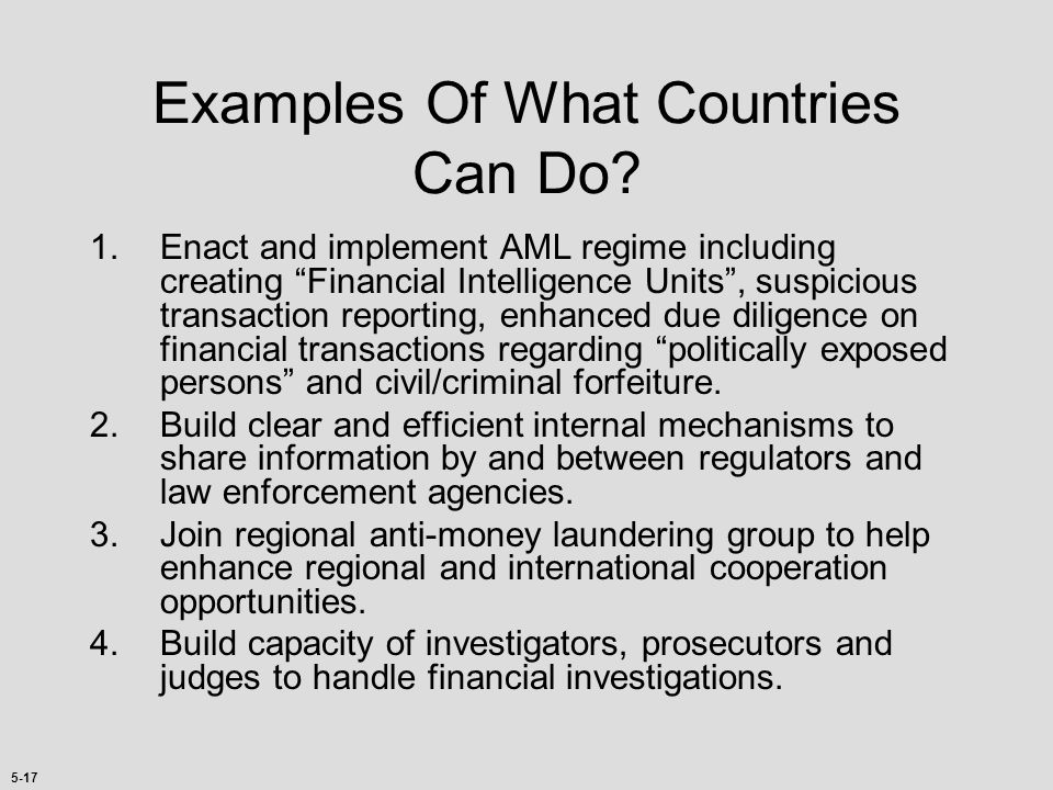 Examples Of What Countries Can Do