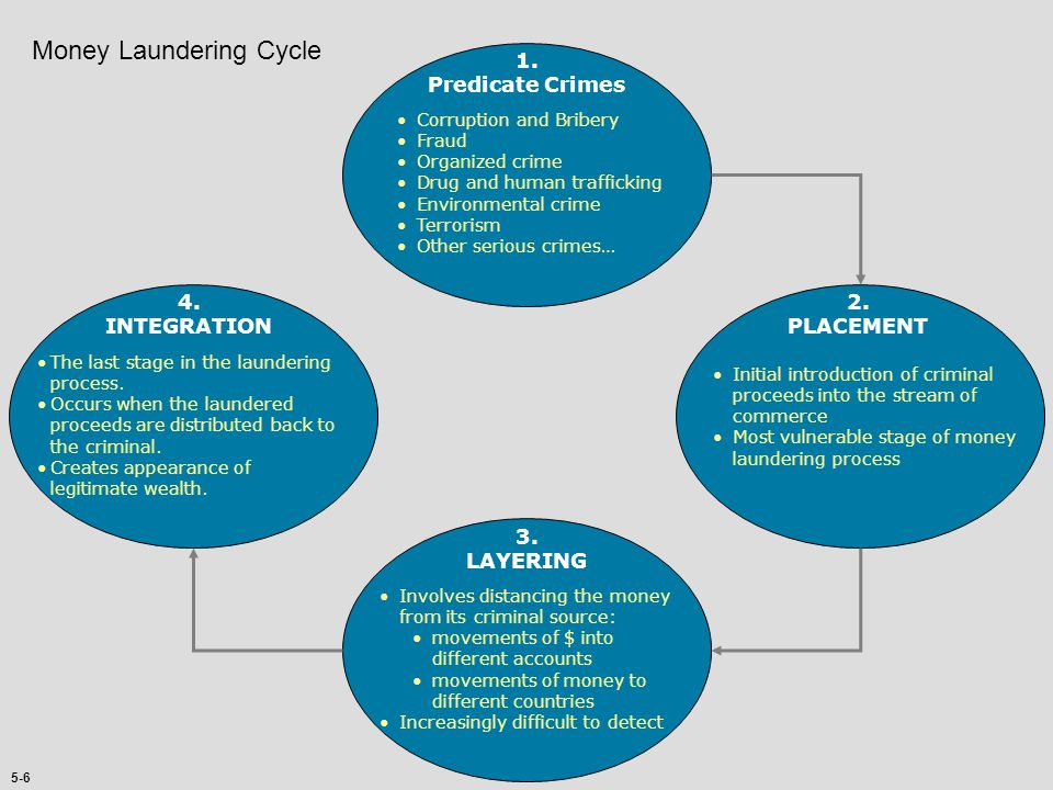 Money Laundering Cycle