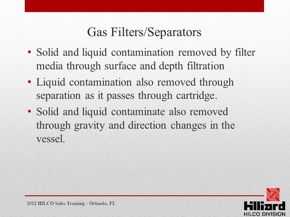 Gas Filters/Separators