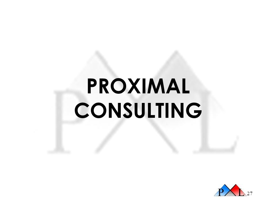 PROXIMAL CONSULTING