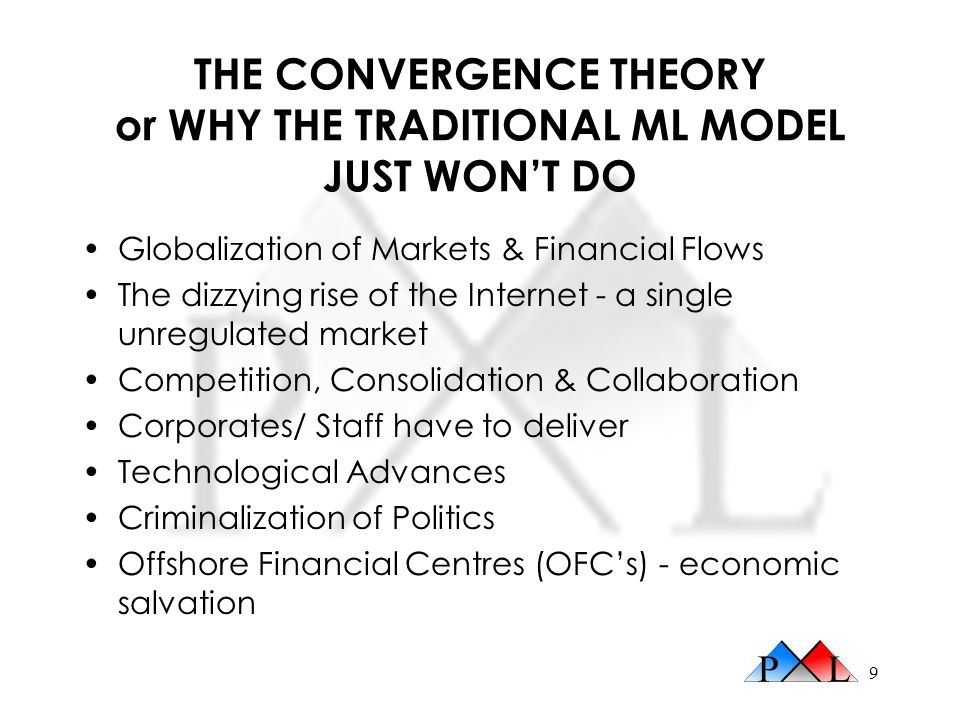 THE CONVERGENCE THEORY or WHY THE TRADITIONAL ML MODEL JUST WON'T DO