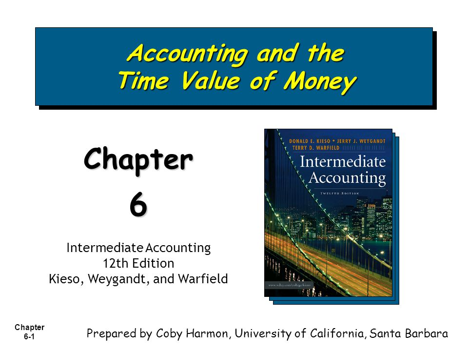 Accounting and the Time Value of Money