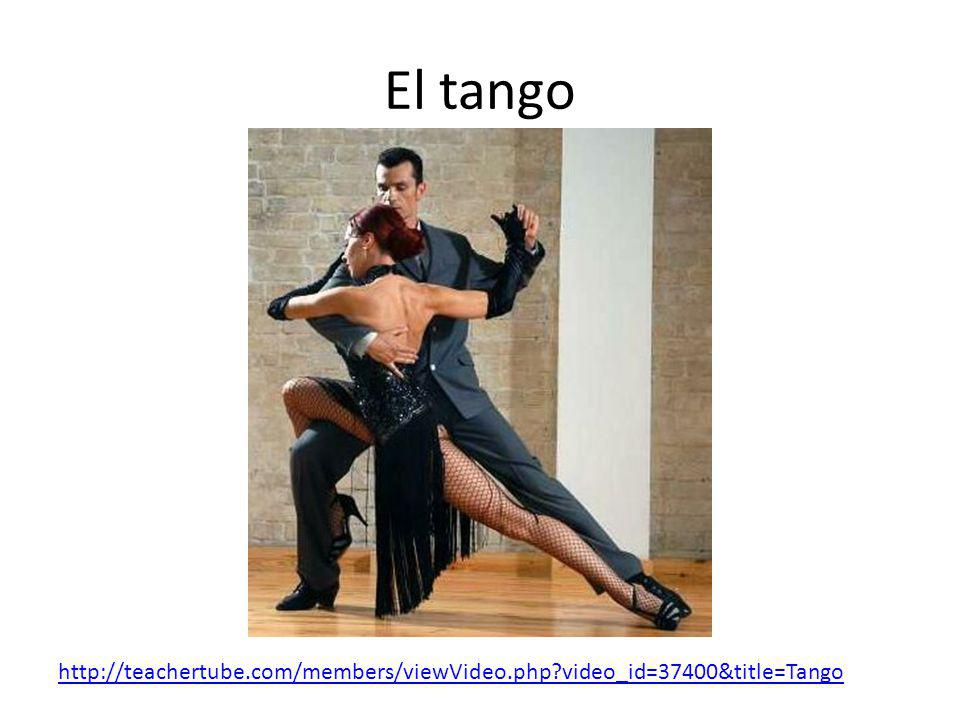 El tango http://teachertube.com/members/viewVideo.php video_id=37400&title=Tango