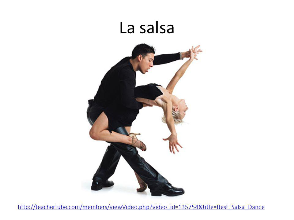 La salsa http://teachertube.com/members/viewVideo.php video_id=135754&title=Best_Salsa_Dance