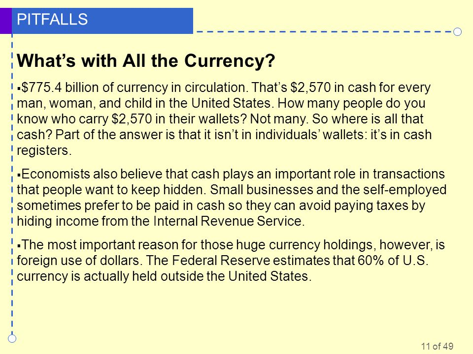 What's with All the Currency