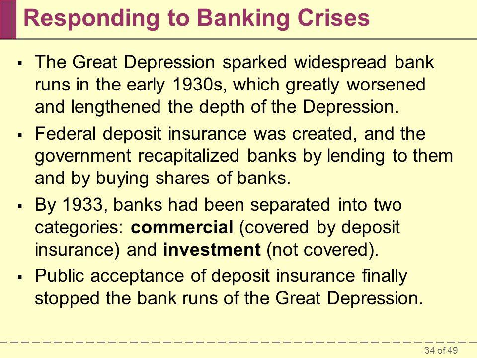 Responding to Banking Crises