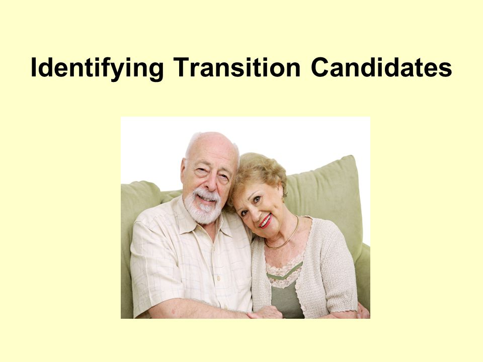 Identifying Transition Candidates