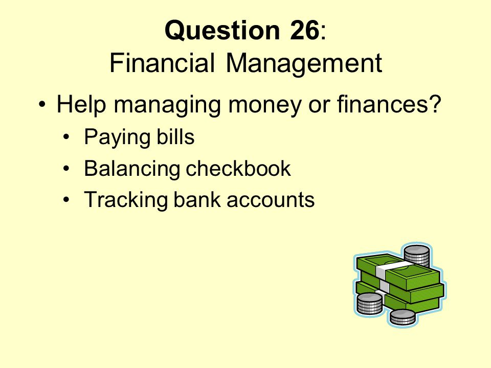 Question 26: Financial Management