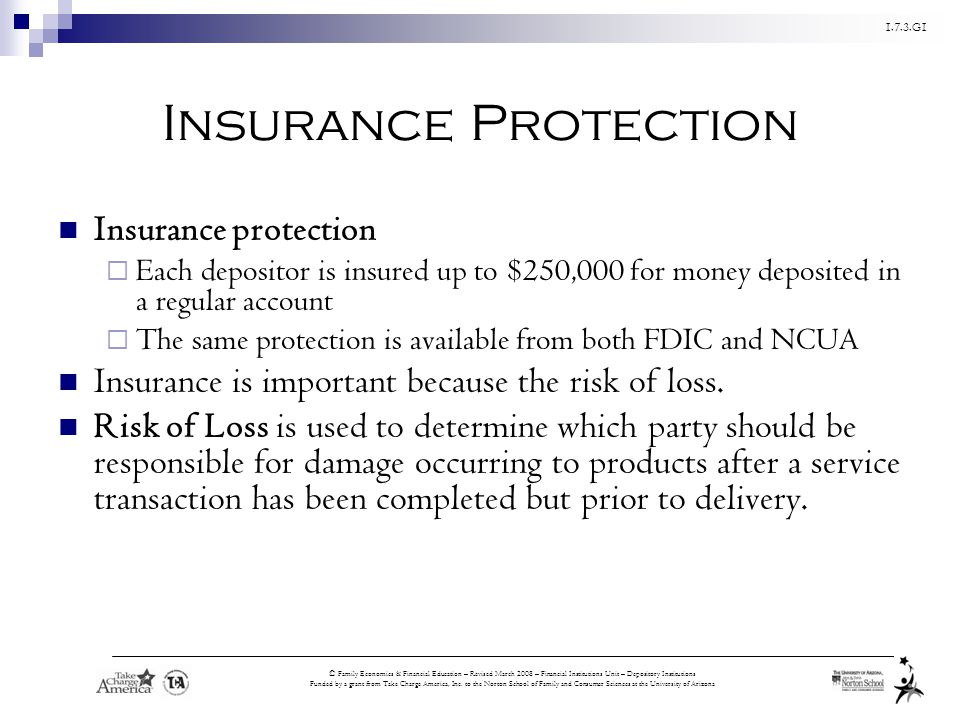 Insurance Protection Insurance protection