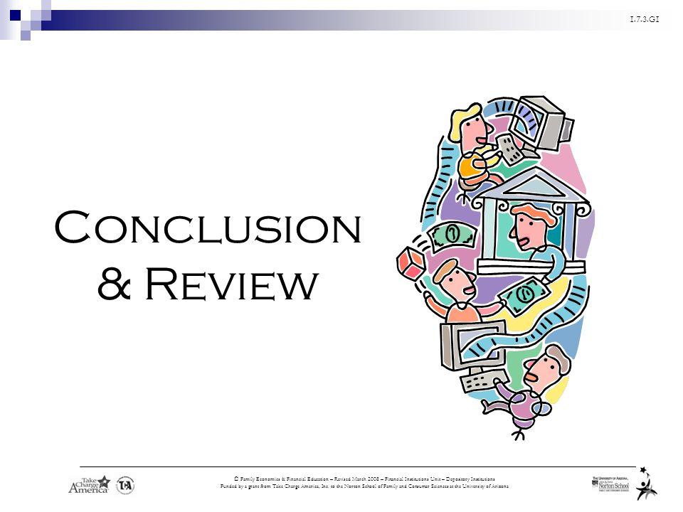 Conclusion& Review