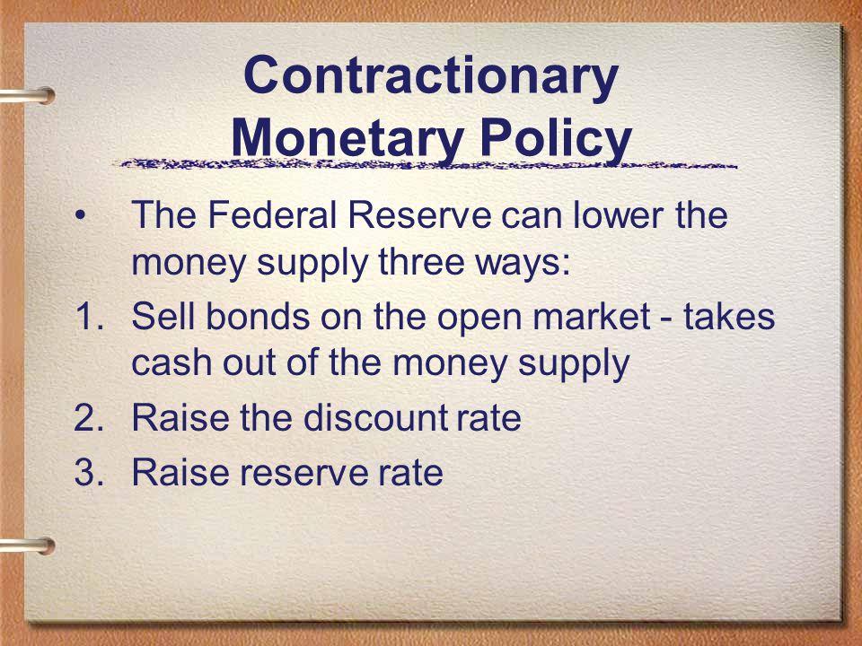 Contractionary Monetary Policy