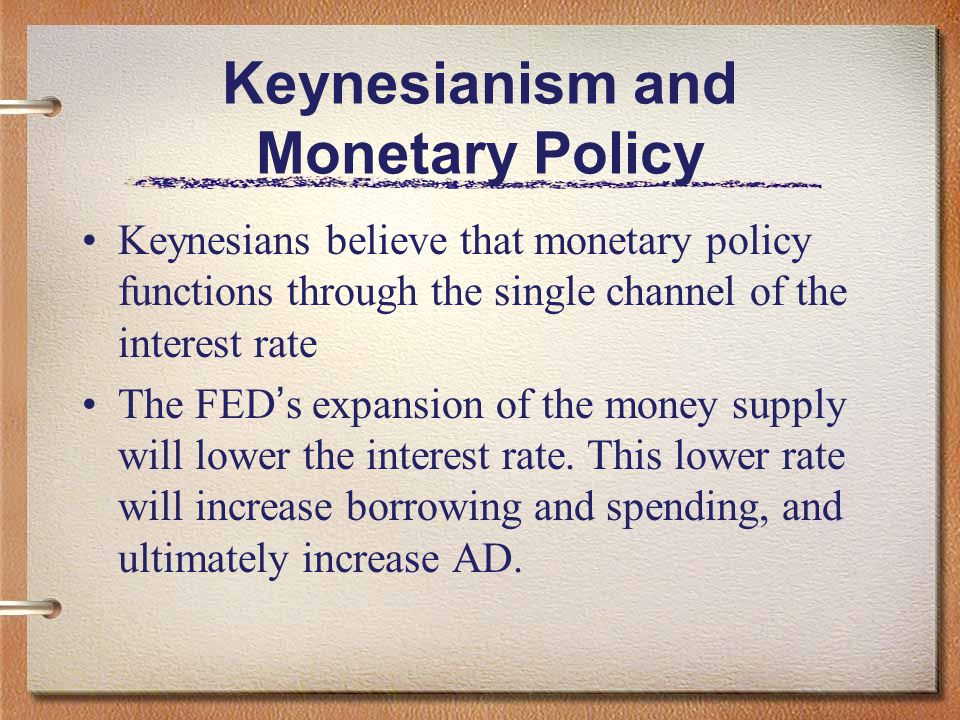 Keynesianism and Monetary Policy