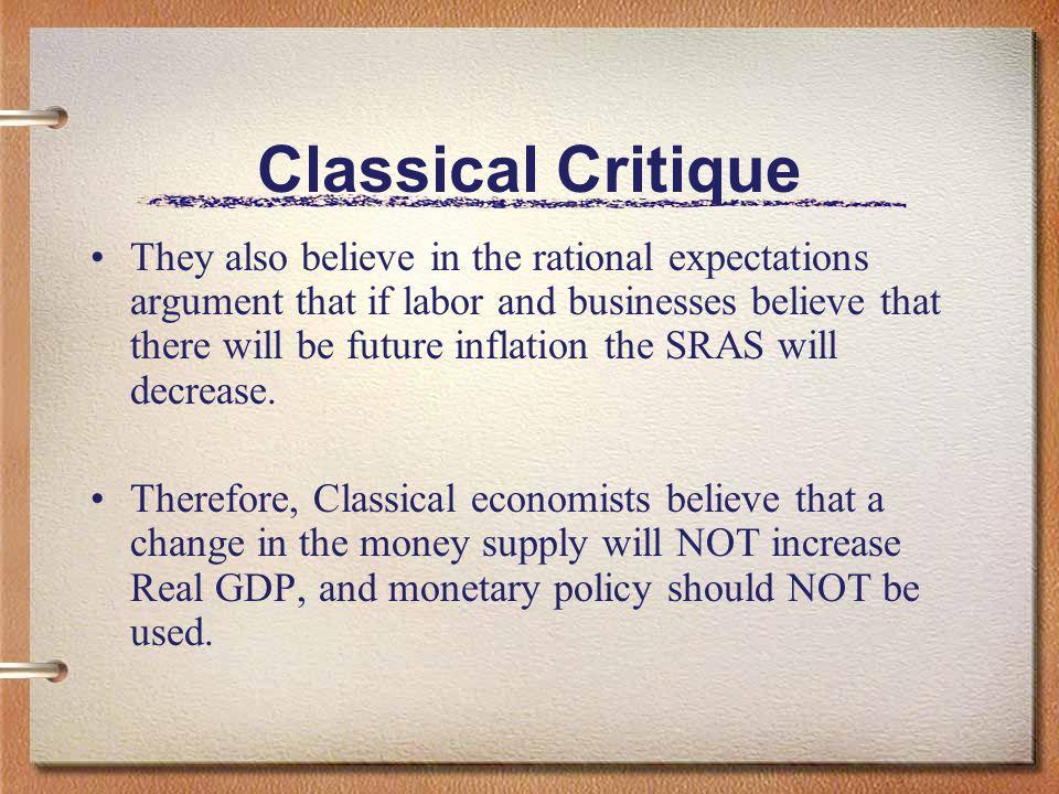 Classical Critique