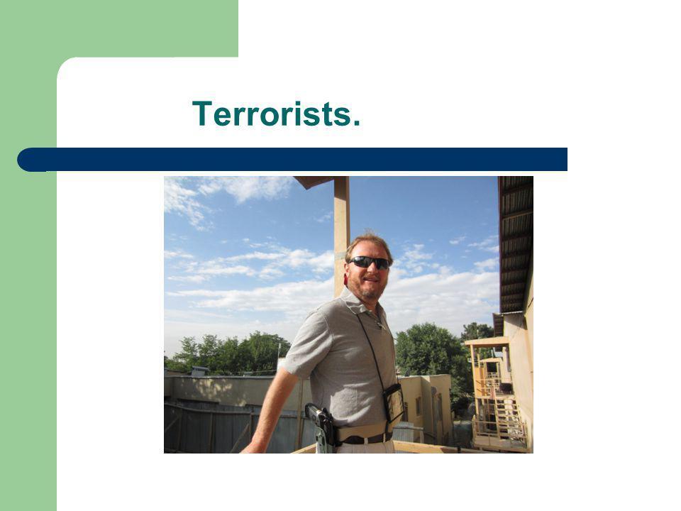 Terrorists.