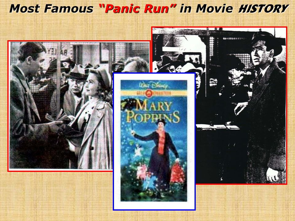 Most Famous Panic Run in Movie History