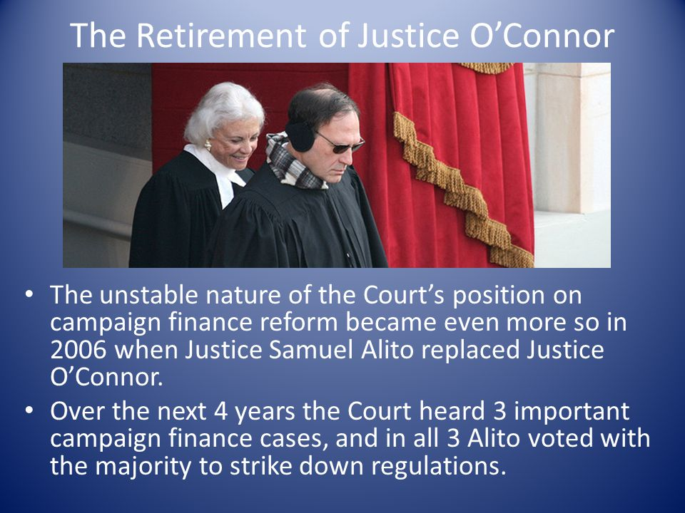 The Retirement of Justice O'Connor