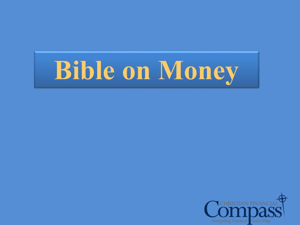 Bible on Money