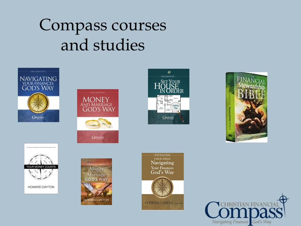 Compass courses and studies