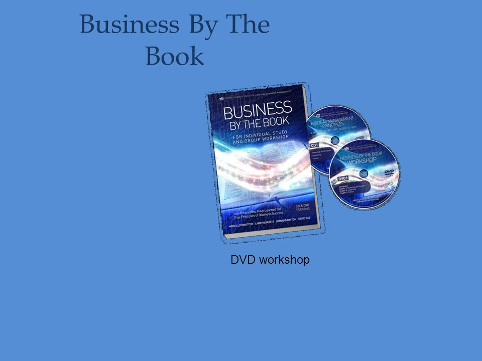 Business By The Book DVD workshop