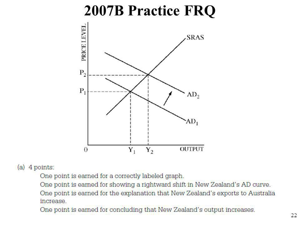 2007B Practice FRQ 22
