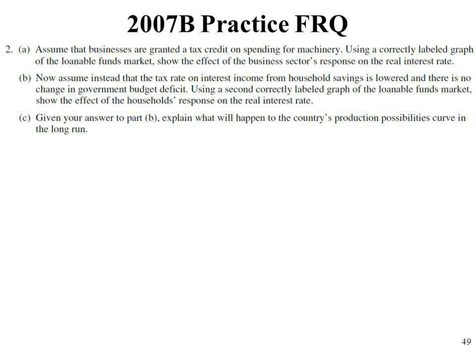 2007B Practice FRQ 49