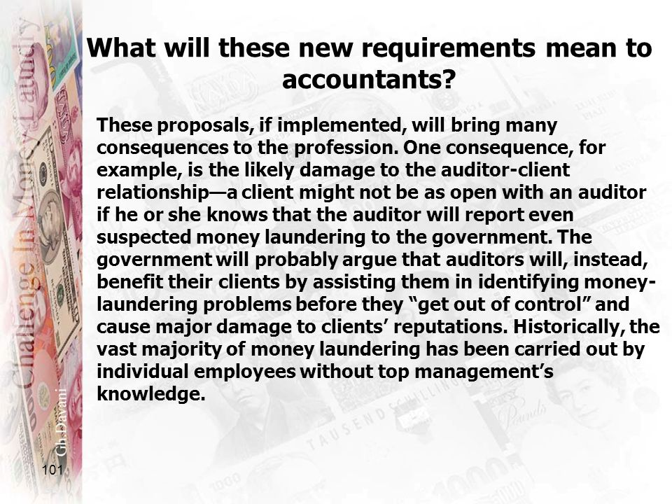 What will these new requirements mean to accountants