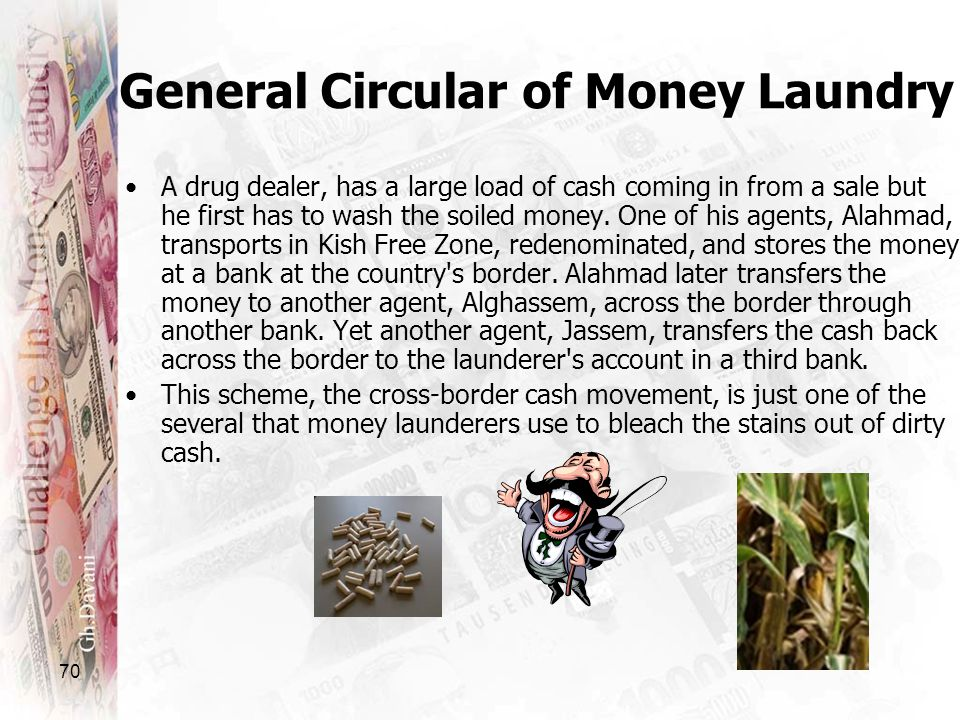 General Circular of Money Laundry