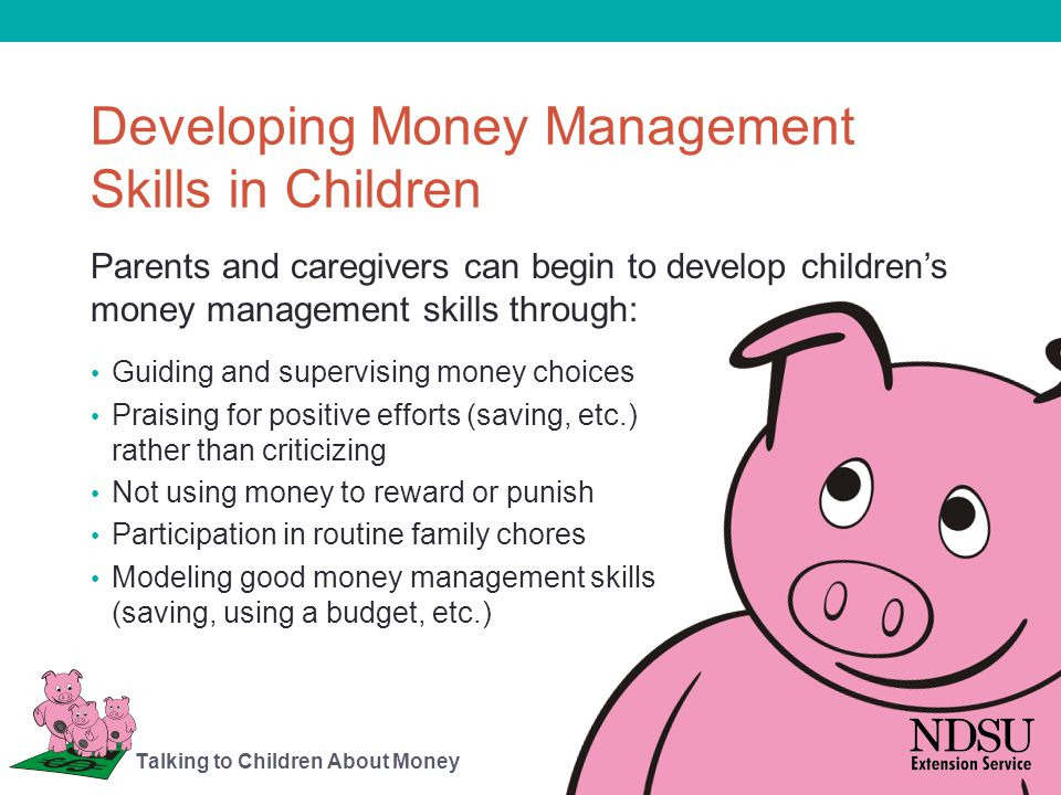 Developing Money Management Skills in Children