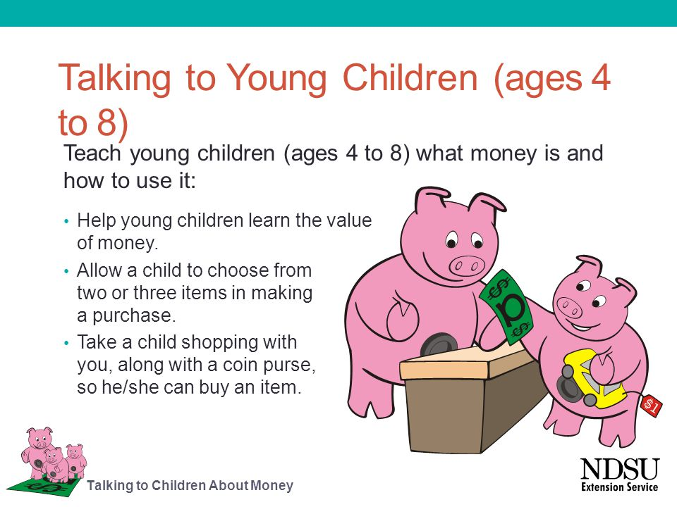 Talking to Young Children (ages 4 to 8)