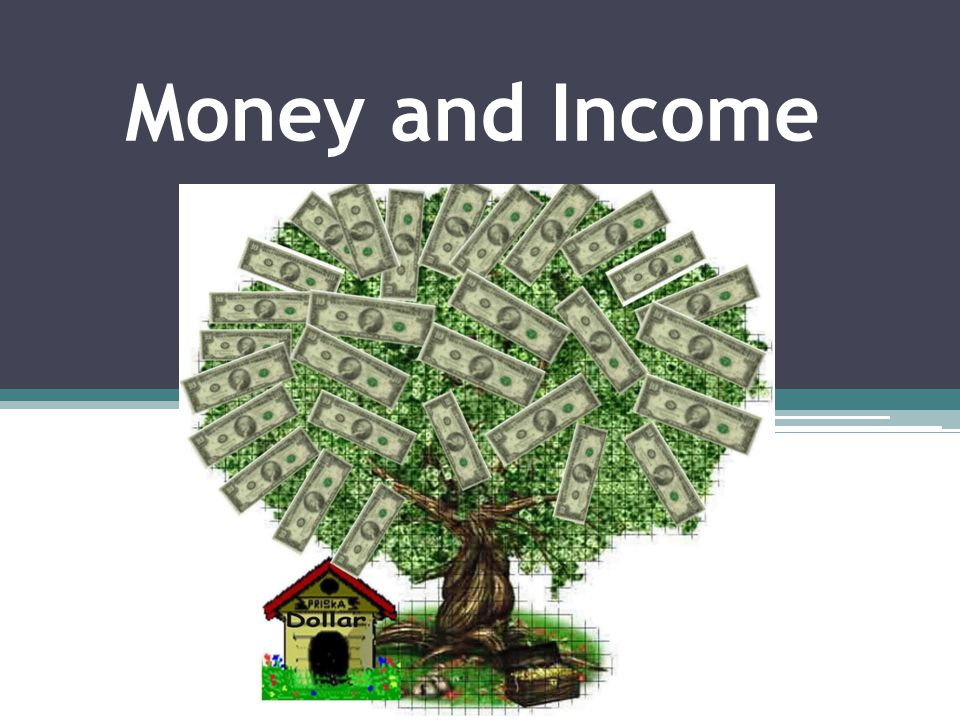 Money and Income