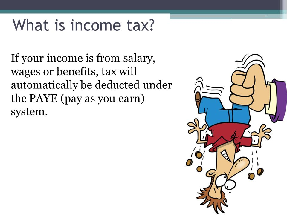 What is income tax.