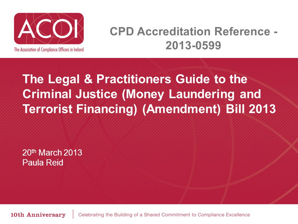 CPD Accreditation Reference - 2013-0599