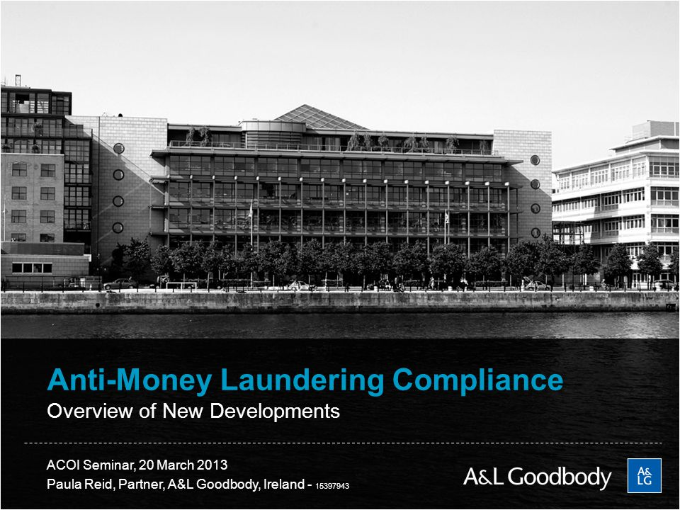 Anti-Money Laundering Compliance