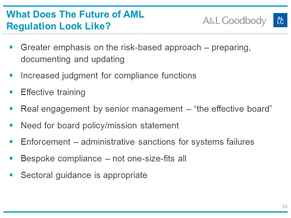 What Does The Future of AML Regulation Look Like