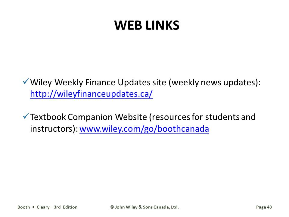 © John Wiley & Sons Canada, Ltd.