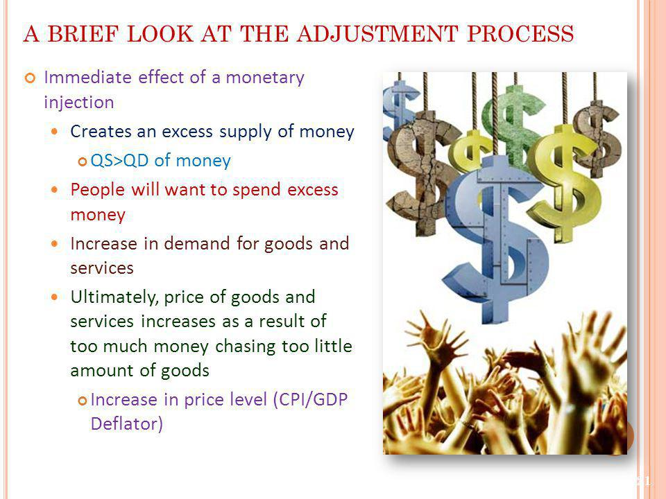 a brief look at the adjustment process