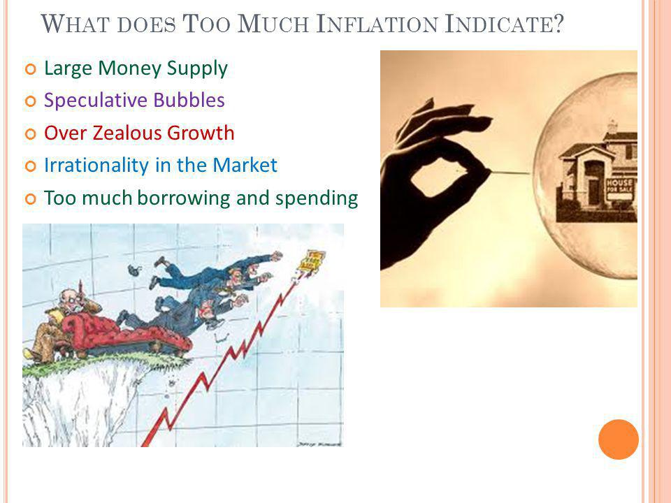 What does Too Much Inflation Indicate
