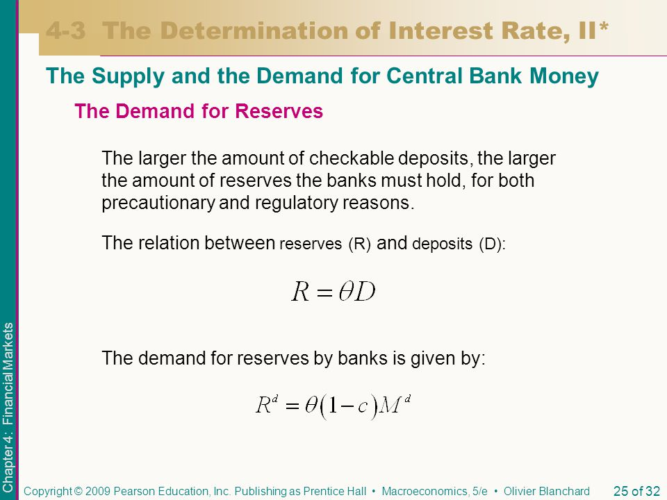 4-3 The Determination of Interest Rate, II*