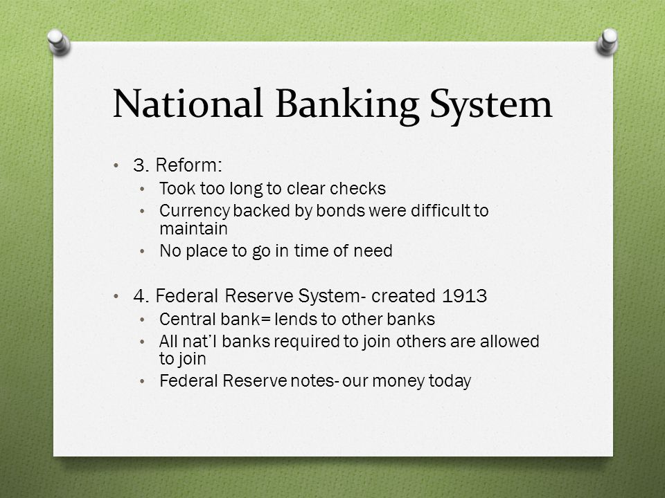 National Banking System