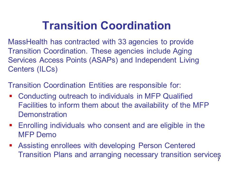 Transition Coordination
