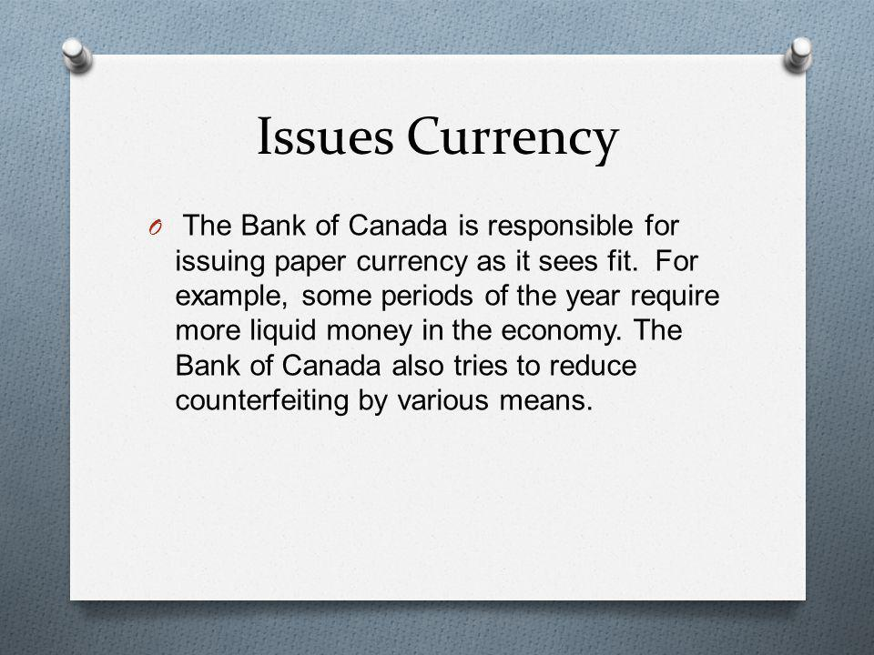 Issues Currency