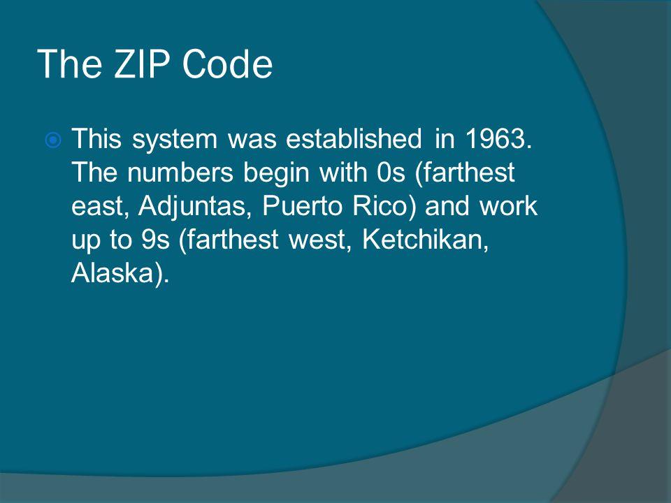 The ZIP Code