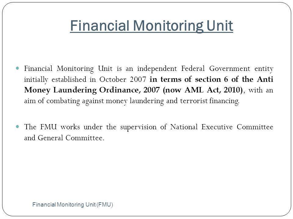 Financial Monitoring Unit