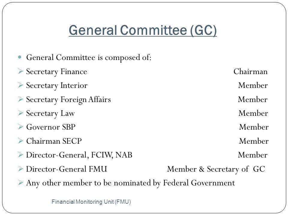 General Committee (GC)
