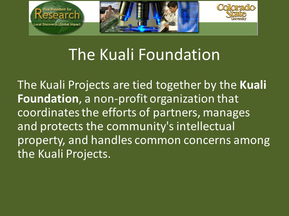 The Kuali Foundation