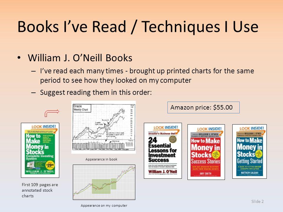Books I've Read / Techniques I Use